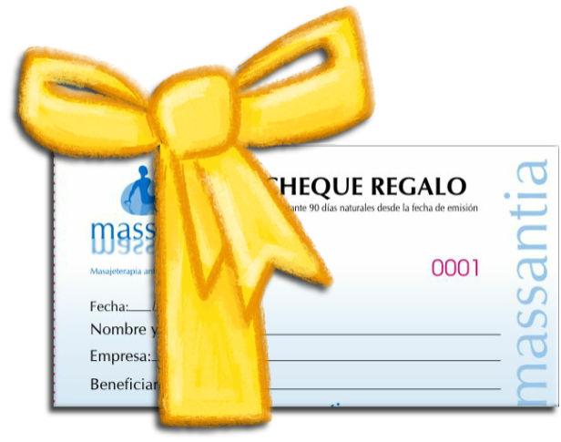 masajes cheque regalo