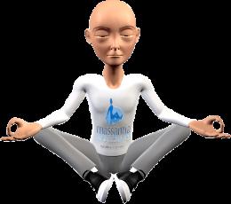 Massantia meditando
